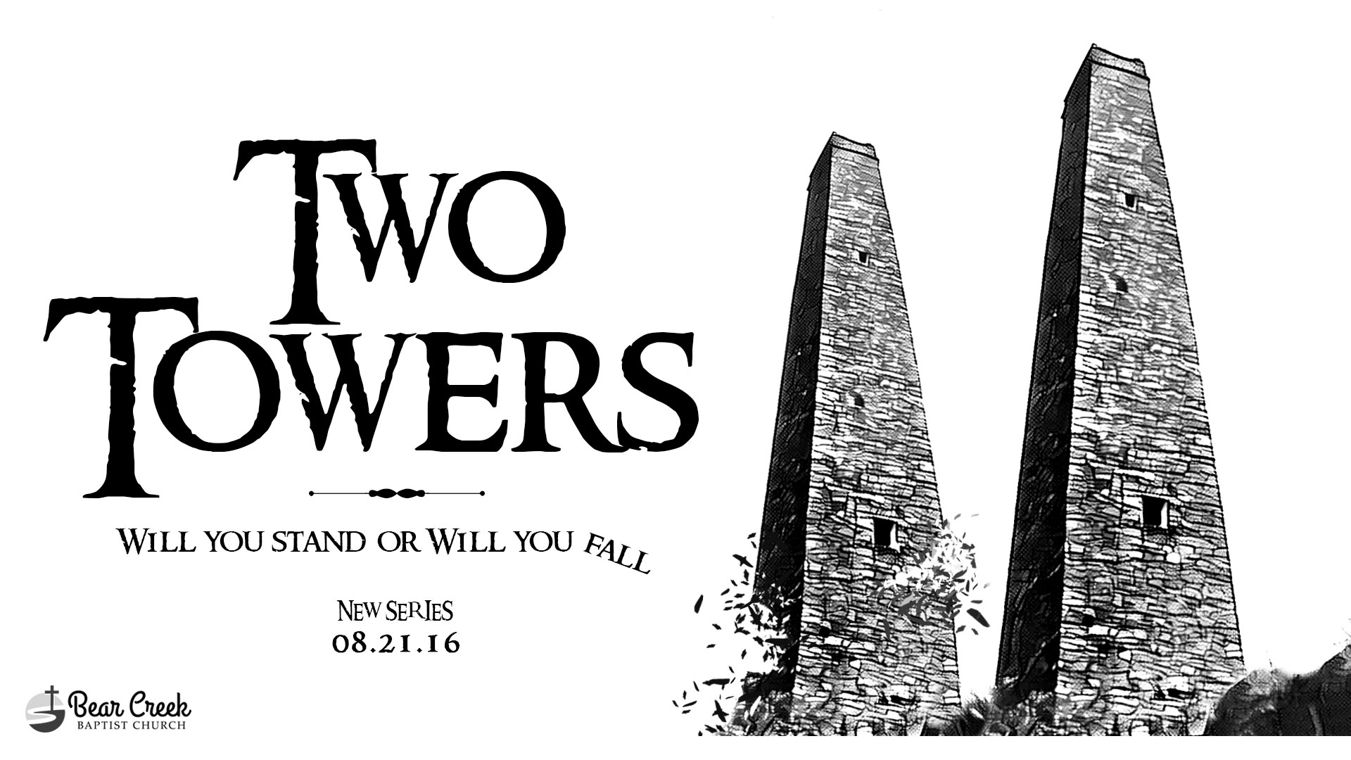 two towers, message, series